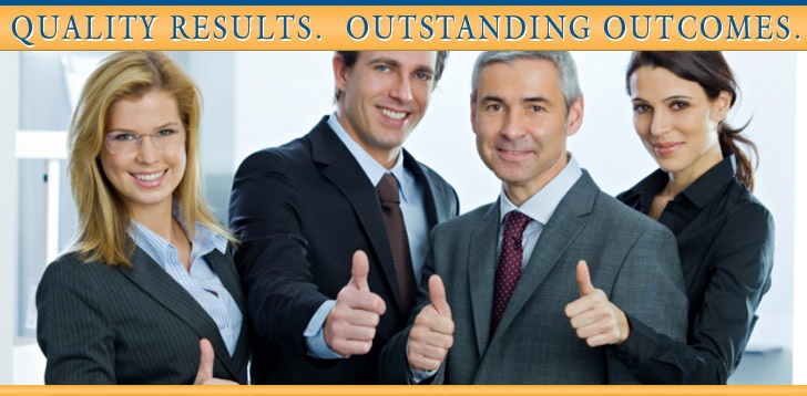 Quality Results.  Outstanding Outcomes.